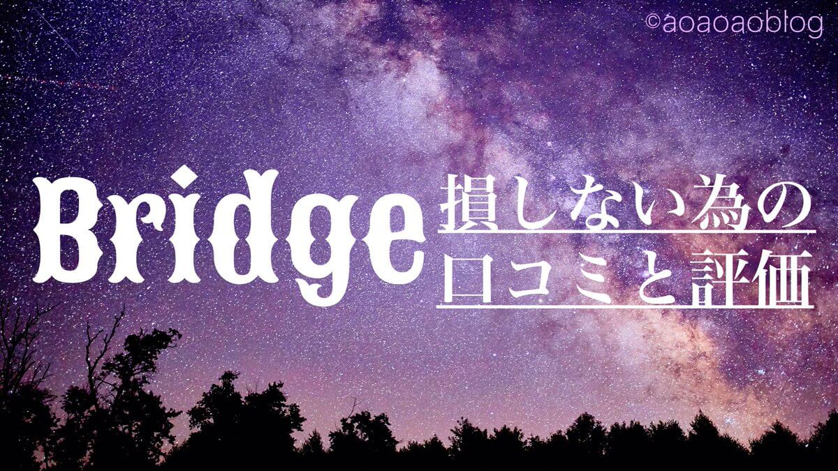 Bridge 口コミ